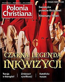 Okładka Polonia Christiana 10. Czarna legenda inkwizycji, Swastyka przeciw krzyżowi, Nieznany Tybet, Turcja w Europie?