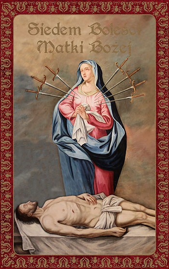 7 Boleści Matki Bożej + Różaniec gratis!
