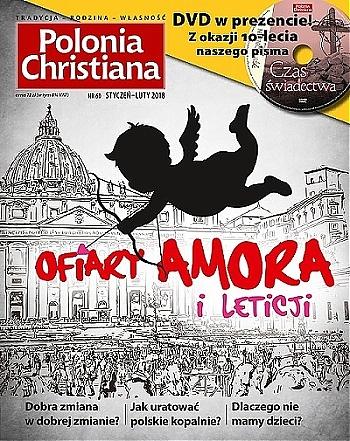 Okładka Polonia Christiana 60 Ofiary Amora i Leticji