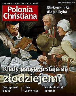 okładka 8 wydania magazynu Polonia Christiana. Przykazanie